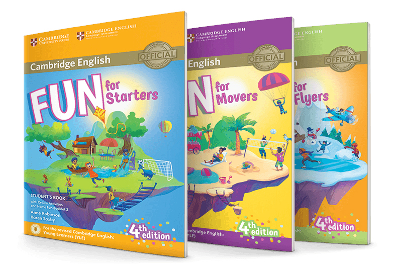 Starters Movers Flyers books